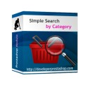 Simple Search by Category Module